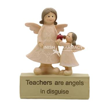 Teacher With Angel Christmas Decoration