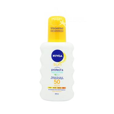 Nivea Sun Pure & Sensitive Sun Spray SPF50 200ml