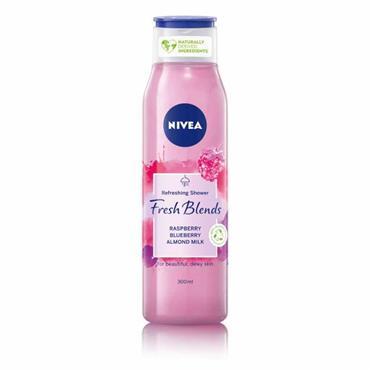 Nivea Shower Fresh Blends Raspberry Blueberry & Almond Milk 300ml