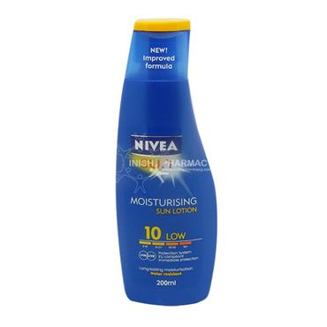 Nivea Sun Protect & Moisture Lotion SPF10 200ml