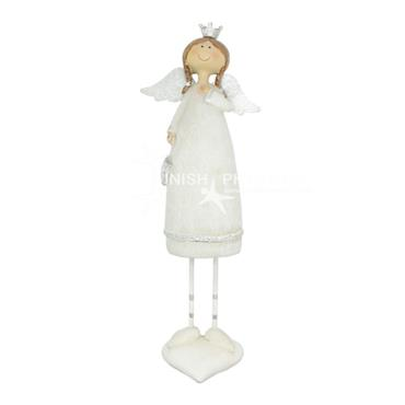 White Angel Christmas Decoration