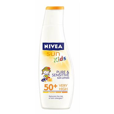 Nivea Sun Kids Pure & Sensitive Sun Lotion SPF50+ 200ml