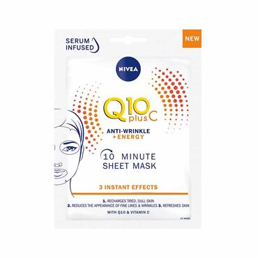 Nivea Q10 Plus C Anti-Wrinkle & Energy Sheet Mask