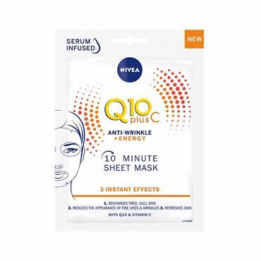 Nivea Q10 Plus C Anti-Wrinkle & Energy Sheet Mask