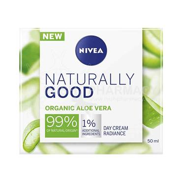 Nivea Naturally Good Organic Aloe Vera Day Cream 50ml