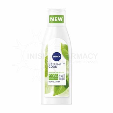 Nivea Naturally Good Organic Green Tea Milky Cleanser 200ml