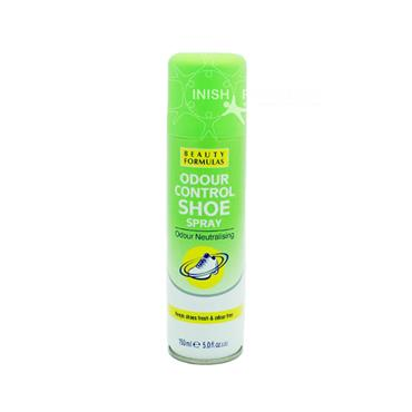 Beauty Formulas Odour Control Shoe Spray Odour Neutralising 150ml