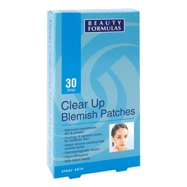 Beauty Formulas Clear Skin Clear Up Blemish Patches