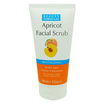 Beauty Formulas Revitalising Apricot Facial Scrub 150ml