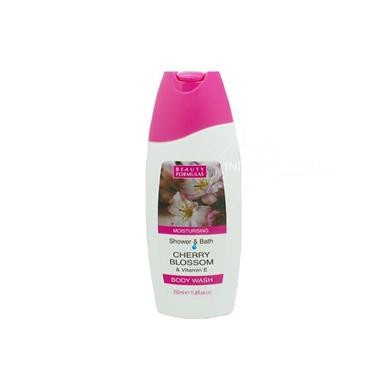 Beauty Formulas Moisturising Shower & Bath Cherry Blossom & Vitamin E Body Wash