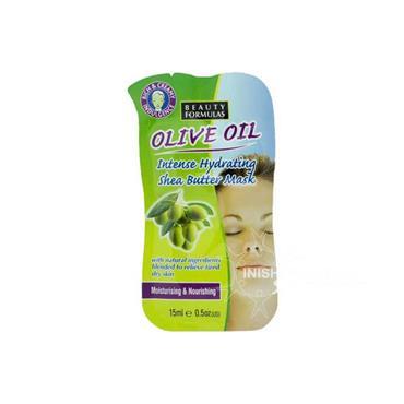 Beauty Formulas Olive Oil Intense Hydrating Shea Butter Mask 15ml