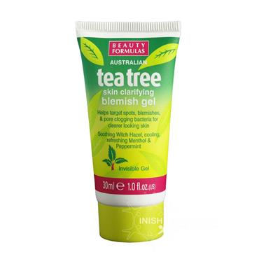 Beauty Formulas Australian Tea Tree Skin Clarifying Invisible Blemish Gel 30ml