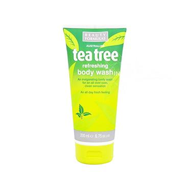Beauty Formulas Australian Tea Tree Refreshing Body Wash 200ml