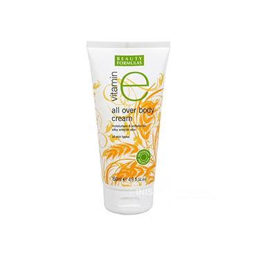 Beauty Formulas Vitamin E All Over Body Cream Moisturiser 150ml