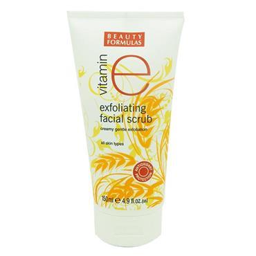 Beauty Formulas Vitamin E Exfoliating Facial Scrub 150ml