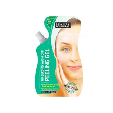 Beauty Formulas 60 Second Wash Off Peeling Gel 50ml sachet