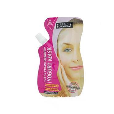 Beauty Formulas Soft & radiant Strawberry Yogurt Mask 50ml