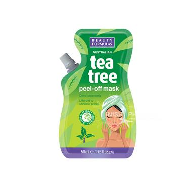 Beauty Formulas Australian Tea Tree Peel-Off Mask 50ml