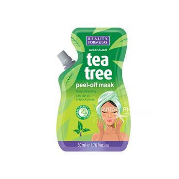 Beauty Formulas Australian Tea Tree Peel-Off Mask 50ml