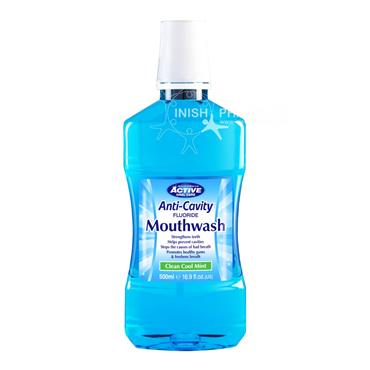 Beauty Formulas Active Oral Care Fluoride Protection Mouthwash Soft Mint 750ml