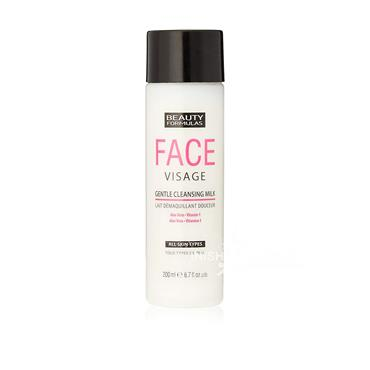 Beauty Formulas Face Visage Gentle Cleansing Milk For All Skin Types 200ml