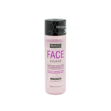 Beauty Formulas Face Visage Refreshing Facial Tonic For All Skin Types 200ml