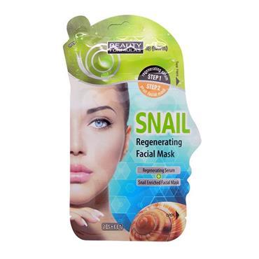 Beauty Formulas Snail Regenerating Facial Mask 1 Sheet 2g