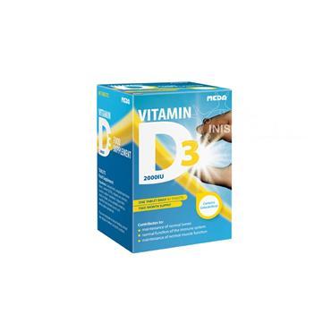 Meda Vitamin D3 2000iu 60 Tabs