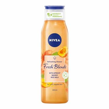 Nivea Shower Fresh Blends Apricot Mango & Rice Milk 300ml