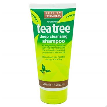Beauty Formulas Tea Tree Shampoo 200ml 88350