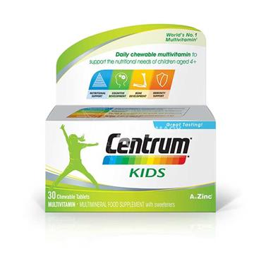 Centrum Kids Chewable Tablets 30 Pack