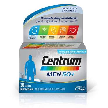 Centrum Men 50+ Multivitamins 30 Pack