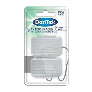 Dentek Wax For Braces Fresh Mint