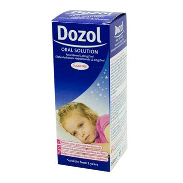 Dozol Sugar Free Oral Solution 100ml with Dosing Syringe