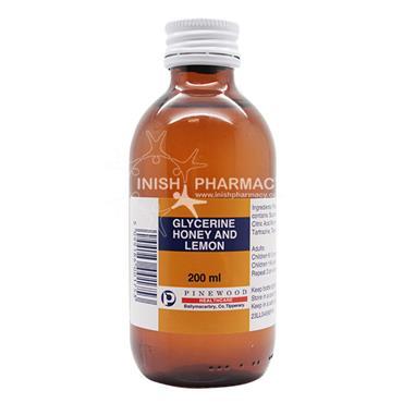 Glycerine Honey & Lemon 200ml