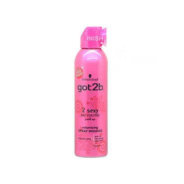 Schwarzkopf Got2b 2 Sexy Big Volume Mousse 250ml