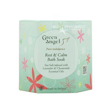 Green Angel Rest And Calm Bath Soak 495g