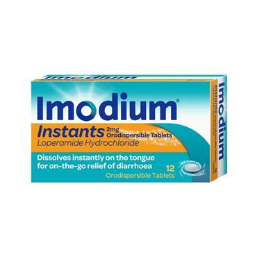 Imodium Instants Loperamide 2mg 12 Pack
