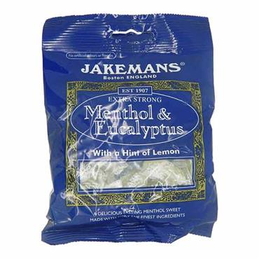 Jakemans Extra Strong Menthol & Eucalyptus With A Hint Of Lemon 100g