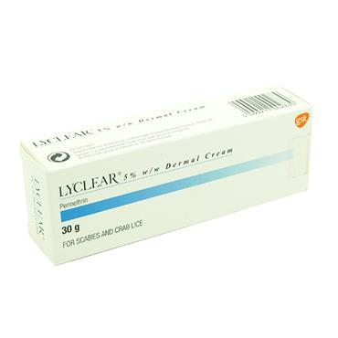 Lyclear Dermal Cream 5% Permethrin 30g