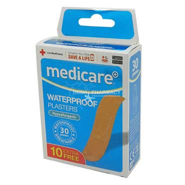 Medicare Waterproof Plasters 30 Pack MD041