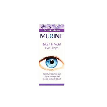 Murine Bright & Moist Eye Drops 15ml