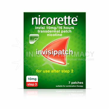 Nicorette Invisi 10mg Patches 7 Pack