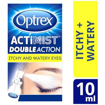 Optrex Actimist Double Action Spray for Itchy & Watery Eyes 10ml