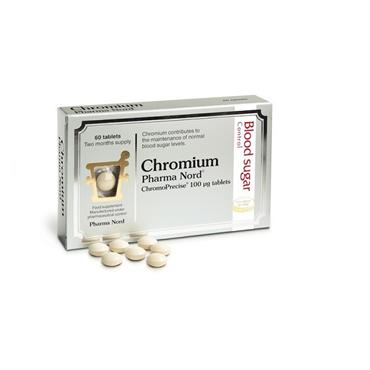 Pharma Nord Chromium 100mcg 60 Pack