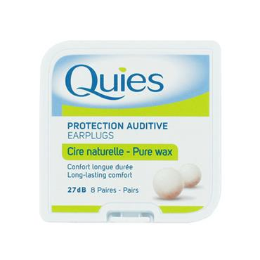 Quies Wax Ear Plugs 8 Pairs
