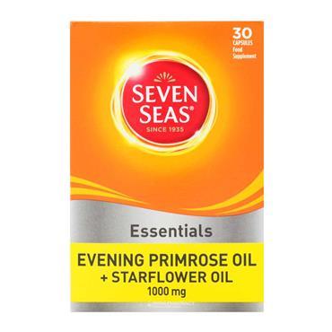 Seven Seas Evening Primrose Oil + Starflower 30 Capsules