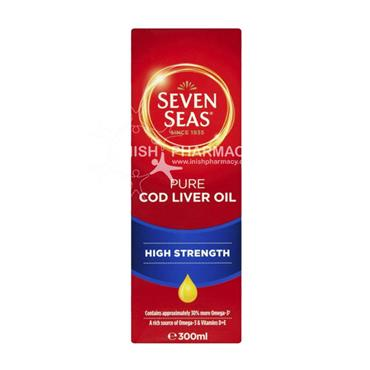 Seven Seas Cod Liver Oil High Strength 300ml