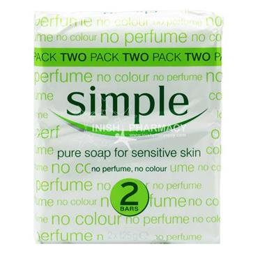 Simple Soap Bar Twinpack