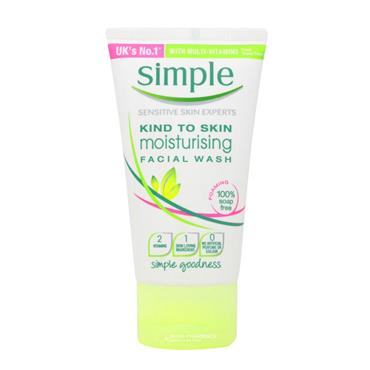Simple Travel Facial Wash Gel 50ml